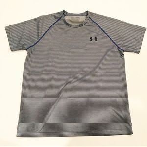 Under Armour Striped Athletic Tee